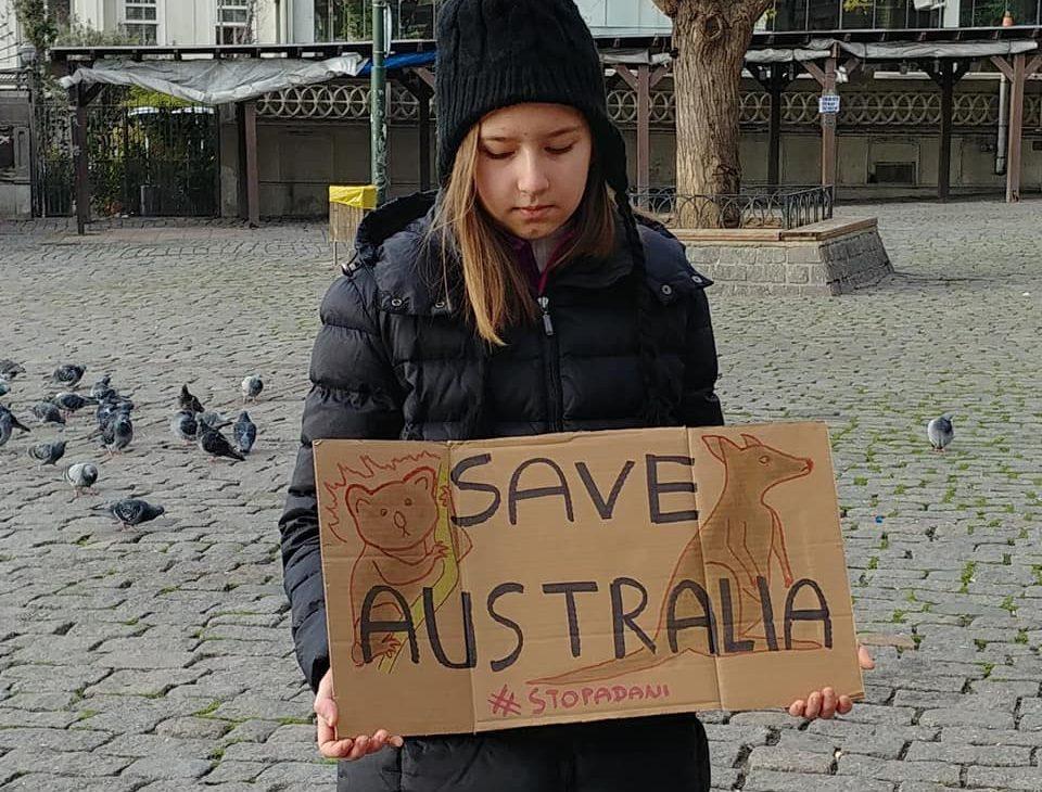 iklim aktivisti Deniz Çevikus - Avustralya