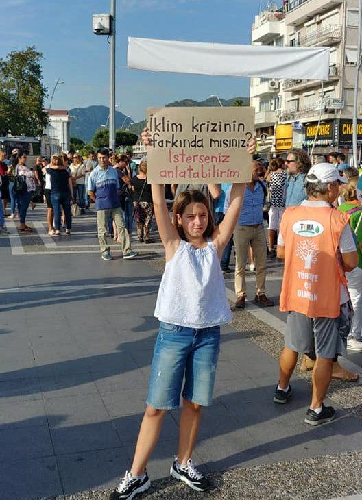 iklim aktivisti Deniz Çevikus - EcoFest Marmaris